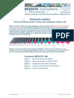 Besista - Dimensión Estática de Tirantes y Barras de Compresión