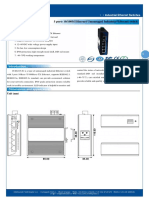 IT ES215 IU Datasheet - SWITCH ETHERNET UNMANAGED INDUSTRIAL