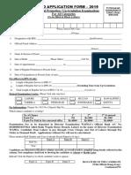 Dpe Form 2019