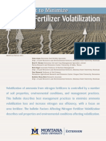 Management to Minimize Nitrogen Fertilizer Volatilization (1)