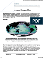 Seawater Composition