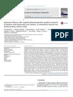 Melhora da Eficacia do Tratamento Depressao e Ansiedade com Teste Farmacogenomico ECR Psychiatric Research 2018