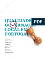 Qualidade Da Governacao Local Em Portugal