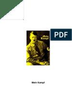 Mein Kampf (English Translation)