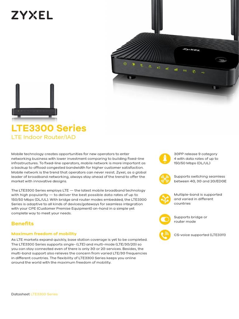 Zyxel LTE3311-Q222 | Wi Fi | Lte (Telecommunication)