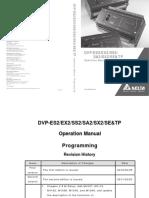 Manual de programação do CLP DELTA