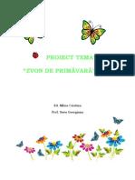 Proiect- Zvon de Primavara