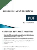 Generacion de Variables Aleatorias (1)