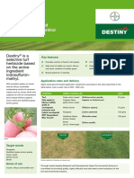 Destiny Technical Brochure now
