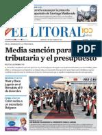El Litoral Mañana   30/11/2018