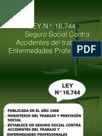LEY N°  16744