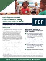 Retention Patterns Among Teachers of Color FINAL