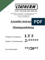 LIQUID COOLER DELTATHERM MODEL LT5VV