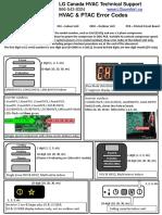 LG - Code Erreur Sonde - En