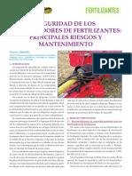 SEGURIDAD DE LOS DISTRIBUIDORES DE FERTILIZANTES