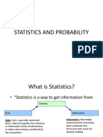 Statistics and Probability (1)