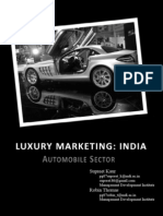 Luxury Marketing in Indian Final