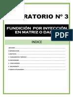 3.Lab 3 Fundición Por Inyección en Matriz o Dados