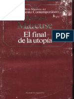 Marcuse, Herbert - El final de la utopia (1968).pdf