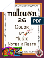 HalloweenMusicColoringSheets26HalloweenMusicColoringPages