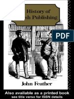 John Feather - A History of British Publishing (1989)