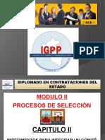 Modulo 02- Capitulo 2 Impedimentos Para Integrar Un Comite de Seleccion