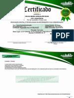 certificado Educação Digital