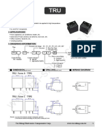 Datasheet Rele Tru 12vcd Fc Cl