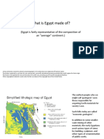 Egypt limestone distribution