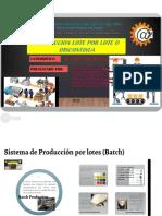 Produccion Por Lote
