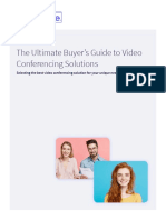 The Ultimate Buyers Guide to Video Conferencing Solutions