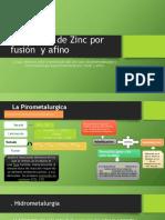 Extracción de Zinc Por Fusión y Afino (1)