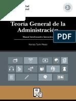 MAI Teoria General de La Administracion ED1 V1 2015