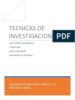 Problema de Investigacion - Aida Rodriguez