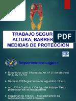 Trabajos en Alturas Proteccion Perimetral y Uso de Arnes