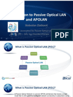 Introduction to Passive Optical Lan