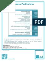 Tabela Precos Cuf Porto Hospital