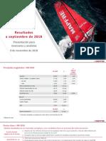 Presentacion resultados T3 Mapfre 2018