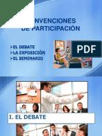 Convenciones de Participacion
