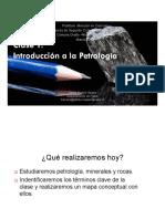 Introducción a La Petrología