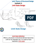 Lect 1 Limit State Design
