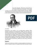 John Dalton Biografica