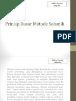 Prinsip Dasar Metode Seismik