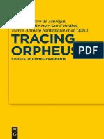 Studies of Orphic Fragments
