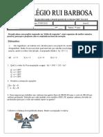 exercícios sistemas de equações