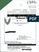 Nato Foreign Diesel Comparative Test Program Gm-mvo Mt883 Engine Evaluation