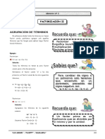 III BIM - 2do. Año - Guía 2 - Factorización II.doc