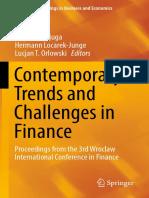 Jajuga Et.al.2018 TrendsAndChallengesInFinance
