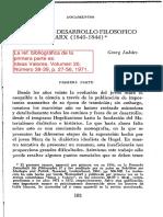 Lukács, G. - En Torno Al Desarrollo Filosofico Del Joven Marx