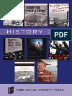 History 2018 Brochure